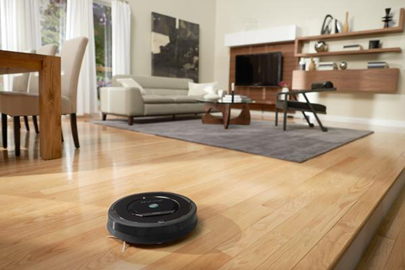 Roomba 880 Living Room